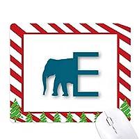 エレファントボディ ゴムクリスマスキャンディマウスパッド