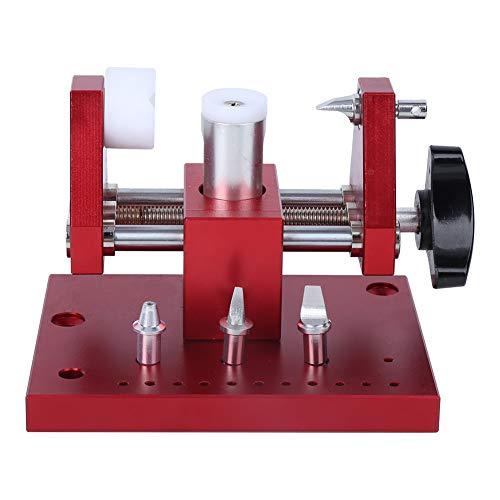 Herramienta de reparación portátil para relojes de aleación de acero rojo para la reparación de relojes
