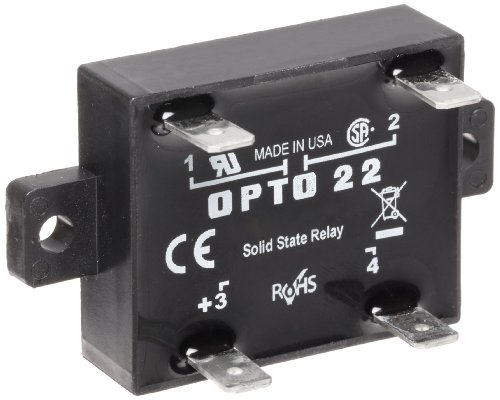Opto 22 Z240D10 Z Model DC Control Solid State Relay, 240 VAC, 10 Amp