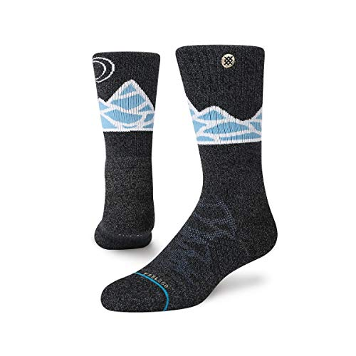 Stance Forester Pass Crew Socken, Blue, M