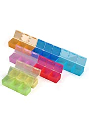 Caja con 21 ranuras para accesorios de pintura de diamantes