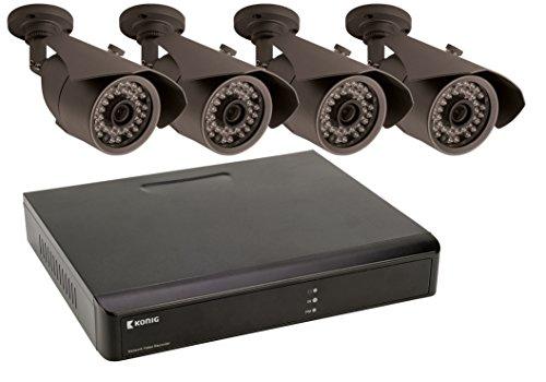 König SAS-SETNVR10Camera Videoüberwachung