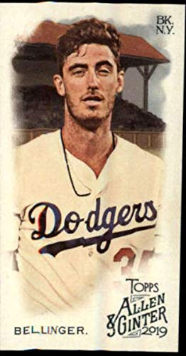 2019 Topps Allen and Ginter Base MINI #34 Cody Bellinger Los Angeles Dodgers Official MLB Baseball Trading Card (very small size)