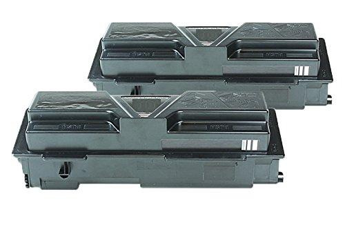 Compatible para Epson Aculaser M 2000 D Cartucho de Tóner Multipack C13S050437 M2000 Negro 2 x 8.000 Páginas