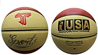 T Sports Indoor/Outdoor Basketball, Size 5, with 2 Colors