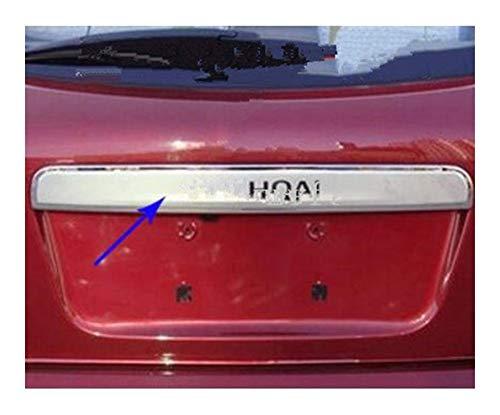 HTSM Kofferraumschutz Für Nissan Qashqai J10 Dualis 2007 2008 2009 2010 2011 2012 2013 304 Stainless Kofferraumleiste Trim Heckklappenschutz (Größe : Ohne Loch)