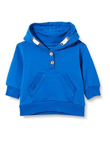bellybutton Baby-Mädchen Sweatshirt T-Shirt, Nautical Blue Blue, 92