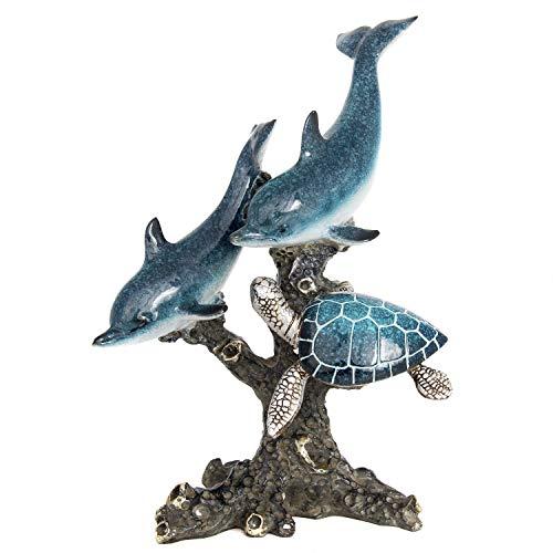 Dolphin Statue Figurine