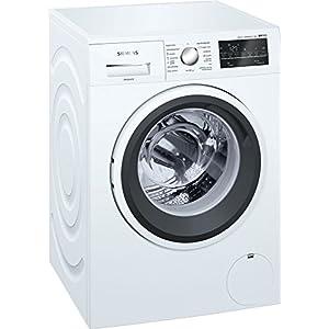Siemens iQ500 WM14T469ES Independiente Carga frontal 8kg 1400RPM A+++ Blanco – Lavadora (Independiente, Carga frontal…