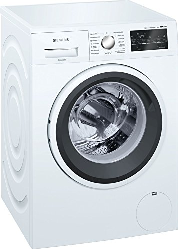 Siemens iQ500 WM14T469ES Independiente Carga frontal 8kg 1400RPM A+++ Blanco - Lavadora (Independiente, Carga frontal, Blanco, Giratorio, Tocar, Izquierda, LED)