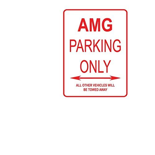 Modtory AMG Parking Only Aluminium Straßenschild