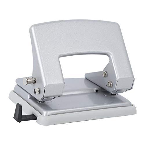 Perforadora de orificio pequeño de doble orificio, Perforadora de orificio pequeña, Perforadora manual de 2 orificios, Perforadora de tela para escuela para oficina, escritorio en casa