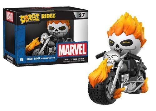 Dorbz Ridez- Marvel Ghost Rider On Motorcycle Figura de...