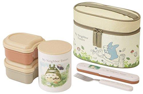Skater My Neighbor Totoro Boîte à repas isotherme (conteneurs alimentaires, fourchette et sac) par KCLJC6 Watercolor