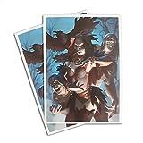 Morgan, Raven Necromancer - 100 Matte Card Sleeves (FN2S)