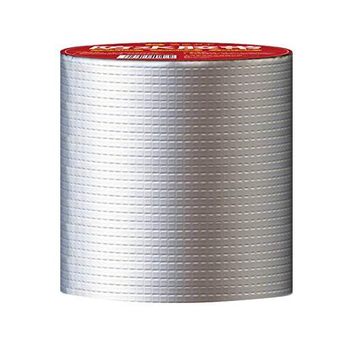 Cinta adhesiva de aluminio, aislante, autoadhesiva, resistente al agua, cinta de aluminio para sellar o aislar (20500 cm)