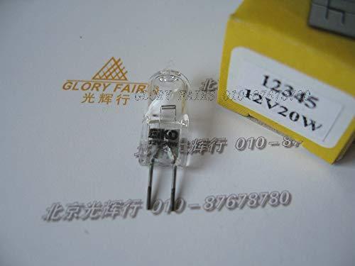 Jammas 12345 12V 20W AV/Photo lamp,12V20W Halogen Bulb,Diagnostic Instruments biochmistry Analyzer Microscope Light