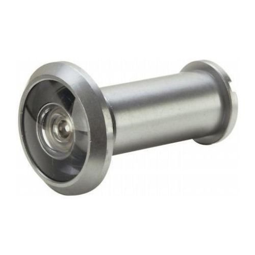 Security Door 180 Degree Peephole Hardware Door Viewer For Security, Peep Hole In A Satin Nickel Finished