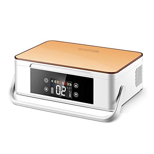 JUNKUN Refrigeración portátil para automóvil/Caja de Viaje pequeña Estuche para Suministros de interferón Vacuna 0-4L2~18 ℃ - Estuche portátil de Viaje para refrigerador de insulina y medicamentos