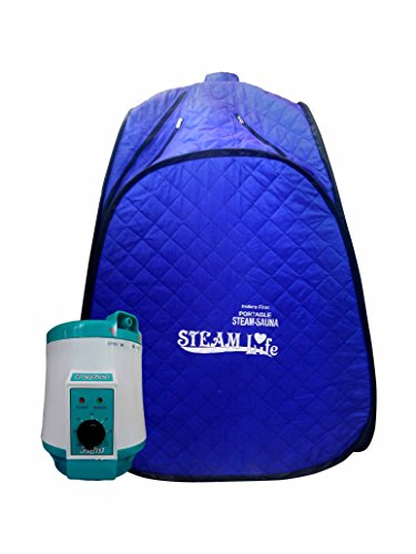 ARG AROGYA Portable Steam Bath for Weight Loss Foldable Sauna Spa with 1.5 L Portable Machine for Full Body Steamer
