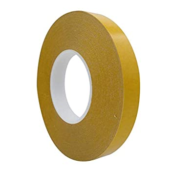 Double Sided Tape Strong Sticky Transparent Tape for Woodworking Template CNC Cat Scratch Tape Arts Craft Photography Scrapbook Card Making Photo Carpet Removable Residue Free 1 in x 82 FT