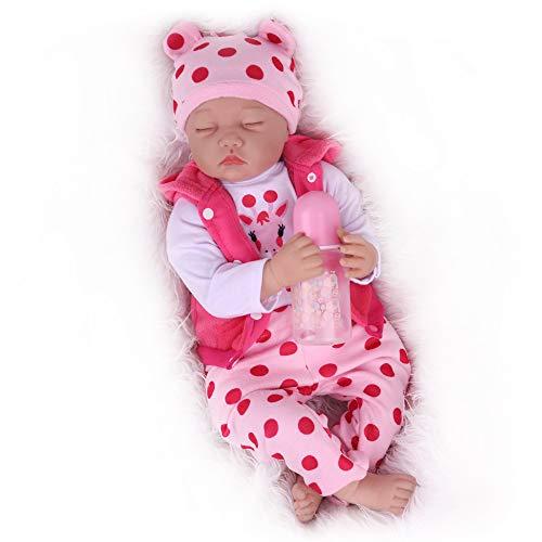 Kaydora Reborn Baby Dolls, 22inch Sleeping Reborn Baby Girl, Cute Lifelike Realistc Reborn Baby Doll That Look Real for Girl Age 3+