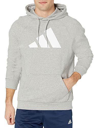 adidas,Mens,BIC Hoodie,Medium Grey Heather,Small