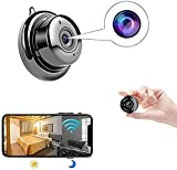 【Full HD 1080P】 Never miss something important anymore cos this wifi camera with superior high-definition camera lens provides crystal clear 1080P / 720P HD video recording, allows you to view and monitor clearly what happened of your home. With 360°...