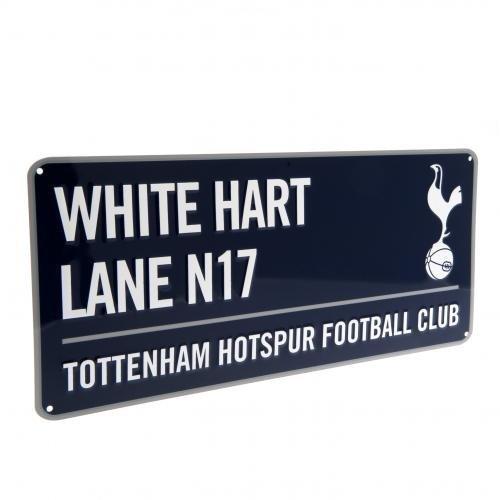 Official Football Merchandise Metallic Sign Street Sign Design for Football Stadium 40cm x 18cm
