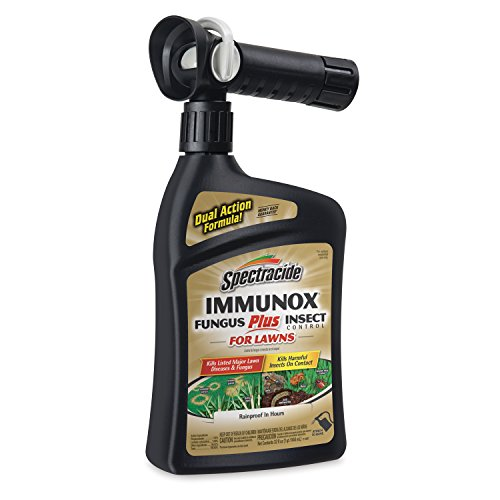 Spectracide Immunox Fungus Plus Insect Control For Lawns, Ready-to-Spray, 32 fl oz