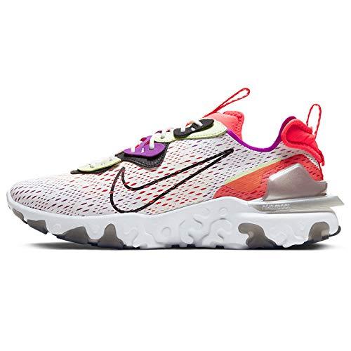 Nike React Vision Cd4373-102 - Zapatillas de correr para hombre, Blanco (Summit Blanco/Negro-Apenas Volt), 41.5 EU