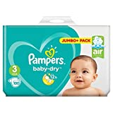 Pampers Baby-Dry Taille 3?couches 100?Jumbo Lot