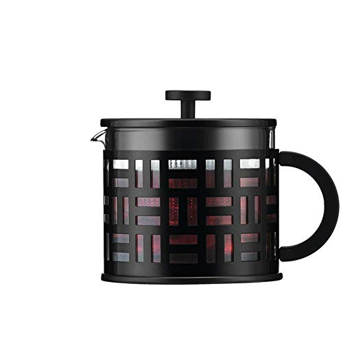 LIUXING-Home Podwójny izolowany ekspres do kawy, prosty dom, francuski dzbanek do kawy, odporny na wysokie temperatury, filtr ciśnieniowy do herbaty, 1500 ml, ręczna prasa filtrująca, ekspres do kawy