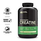 5G PURE CREATINE MONOHYDRATE PER SERVING SUPPORTS INCREASES IN ENERGY, ENDURANCE & RECOVERY MAXIMUM POTENCY supports muscle size, strength, and power SUPREME ABSORBENCY micronized to get the most out of each dose UNFLAVORED can be mixed in your favor...