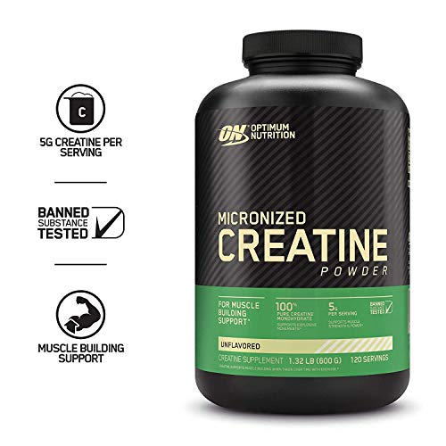 Optimum Nutrition Micronized Creatine Monohydrate...