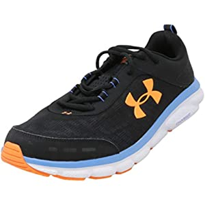 Under Armour Men's Charged Bandit Trail Sneaker, Black (001)/Pitch Gray, 10