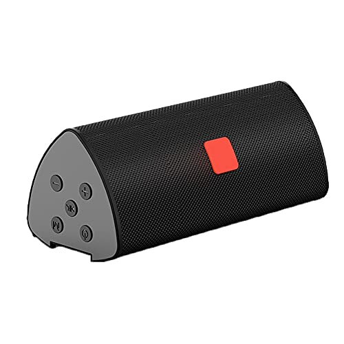 Altavoz Bluetooth, Altavoz Estéreo Portátil, Potente Efecto De Triple Bajo, Tiempo De Reproducción A Prueba De Agua 24 Horas con Alimentación Móvil Y Manos Libres (Color : Black)