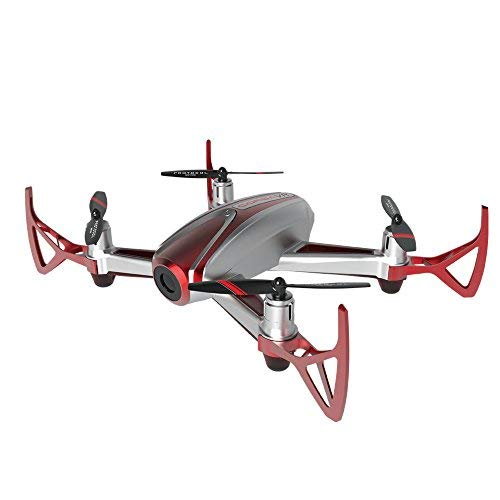 Protocol Drone - Corsa VR Drone Racer – Camera Drone with 480p Live Streaming Video, Photo, Wi-Fi – 3D VR Headset Included – All Skill Levels – Crash-Resistant Materials – Remote-Controlled