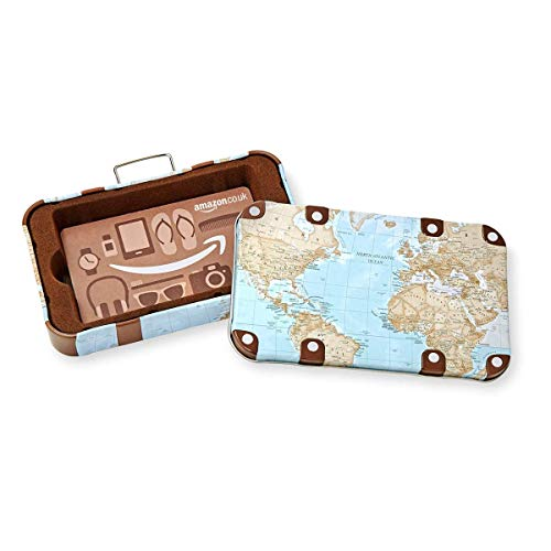 Amazon.co.uk Gift Card in a Luggag