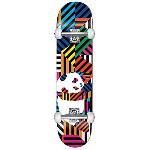 Enjoi Panda Stripes Resina Factory - Skateboard completo Multi 7,7 pollici