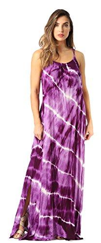 Riviera Sun 21775-PRP-L Summer Dresses Maxi Dress Sundresses for Women Purple