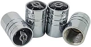Rad Reifen Ventil Stem Caps F/ür MINI Cooper One S R50 R53 R56 r60 F55 F56 Radkappen Reifen Teile B sliver