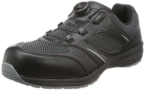 [イグニオ] セーフティシューズ(安全靴) JSAA B種認定 TGFダイヤル式 IGS1018TGF ブラック 26.5 cm 3.5E