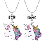 BFF Collane Unicorno Best Friends per 2 Bambina Ragazze