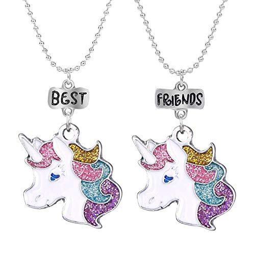 BFF Collane Unicorno Best Friends per 2 Bambina Ragazze