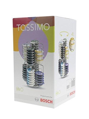 Tassimo Kapselhalter drehbar für 64 T-discs