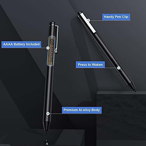 TiMOVO USI Stylus Stift Kompatibel mit Chromebook, 4096 Druckstufen Eingabestift Palm Rejection Chromebook Duet, HP Chromebook x360 12b/14c, Chromebook Flip C436/C536/CX5, Galaxy Chromebook, Grau - 7