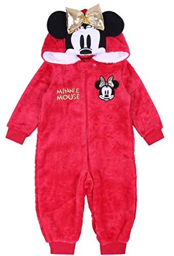 sarcia.eu Combinaison Chaud et Rouge Minnie Mouse 9-12 Mois