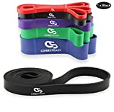 Coresteady Fitnessbänder | Klimmzug Support Band | Trainingsband für CrossFit – Powerlifting /...