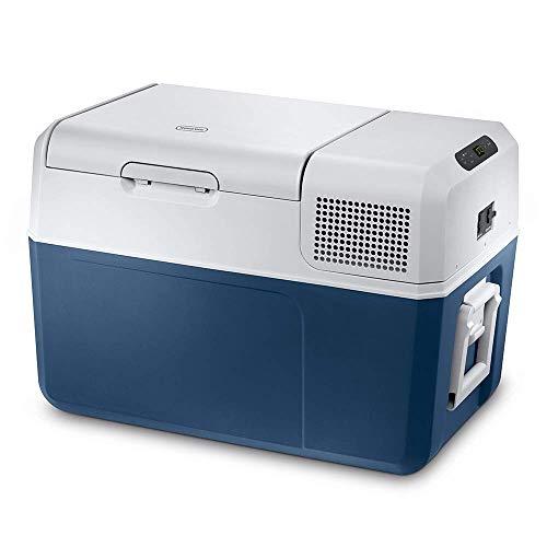 Mobicool MCF60, elektrische Kompressor-Kühlbox, 58 l, 12/24/230 V, Mini-Kühlschrank für Auto, Lkw, Boot + Steckdose, A+